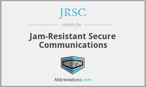 JRSC - Jam-Resistant Secure Communications