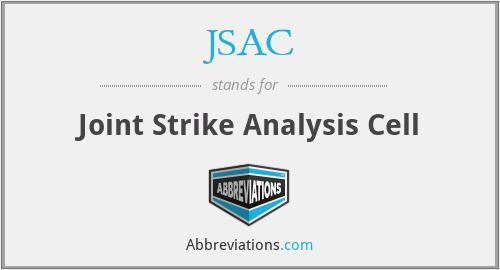 JSAC - Joint Strike Analysis Cell