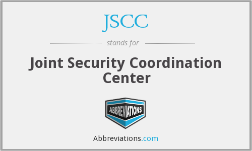 JSCC - Joint Security Coordination Center