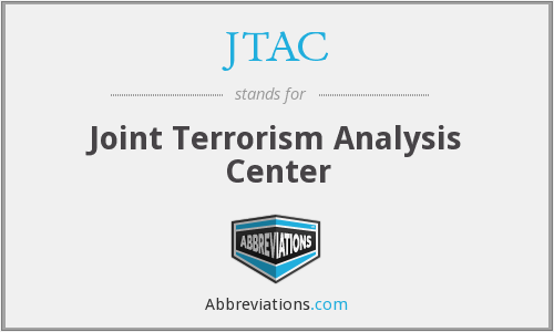 JTAC - Joint Terrorism Analysis Center