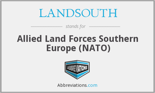 What does LANDSOUTH stand for?