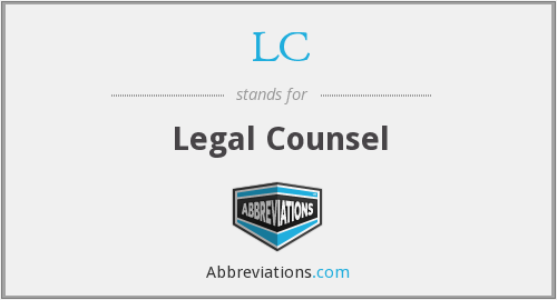 LC - Legal Counsel