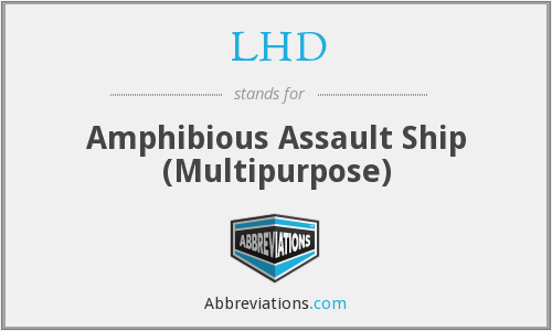 LHD - Amphibious Assault Ship (Multipurpose)