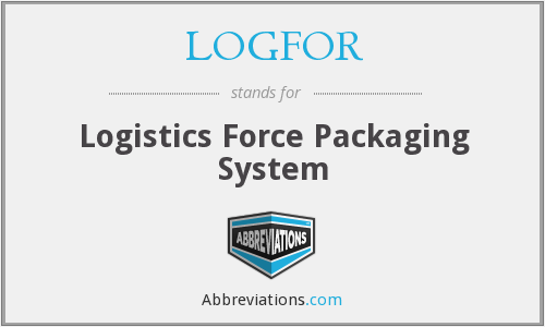 LOGFOR - Logistics Force Packaging System