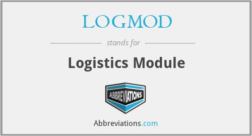 LOGMOD - Logistics Module