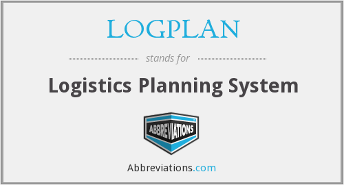 What does LOGPLAN stand for?