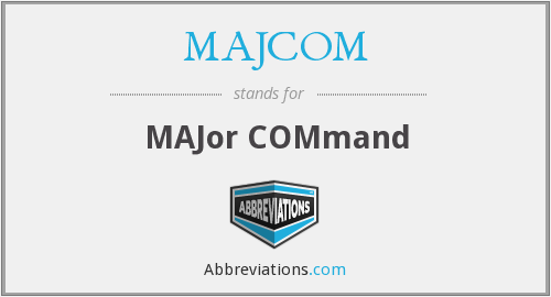 MAJCOM - Major Command (USAF)