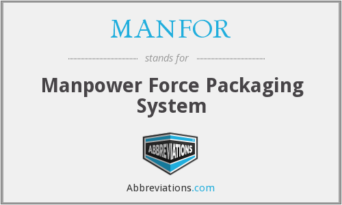 What does MANFOR stand for?