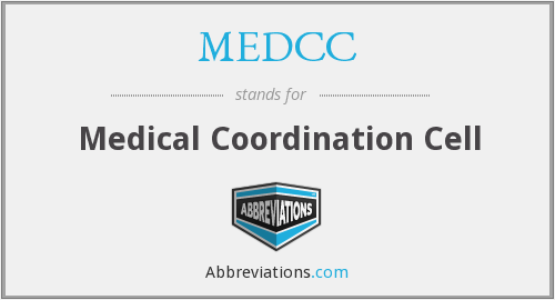 MEDCC - Medical Coordination Cell