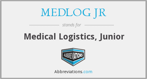 What does MEDLOG JR stand for?
