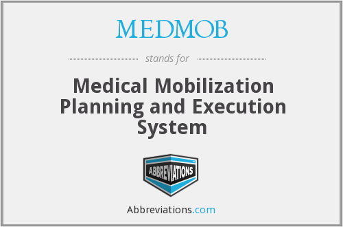 MEDMOB - Medical Mobilization Planning and Execution System