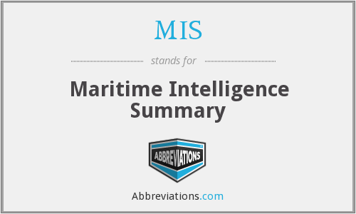 MIS - Maritime Intelligence Summary