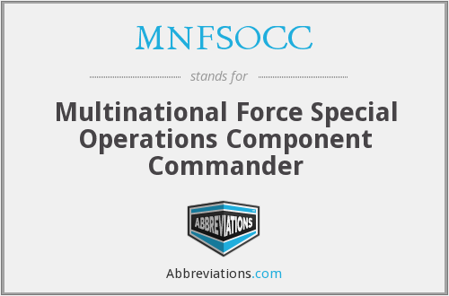 What does MNFSOCC stand for?