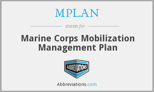 What does MPLAN stand for?