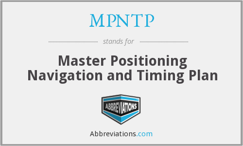 What does MPNTP stand for?