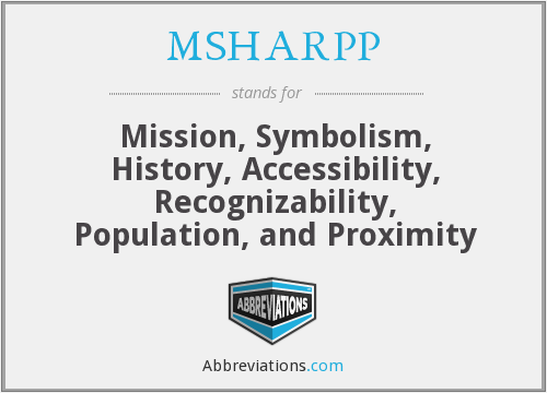 What does MSHARPP stand for?