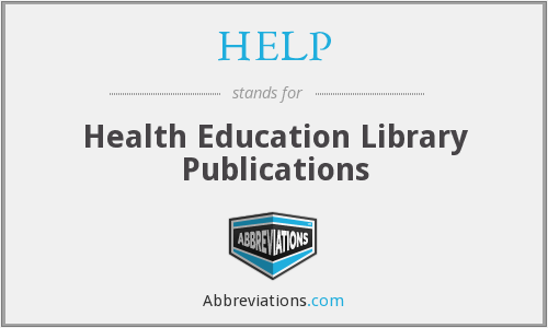 HELP - Health Education Library Publications