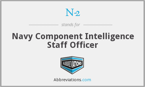 N-2 - Navy Component Intelligence Staff Officer