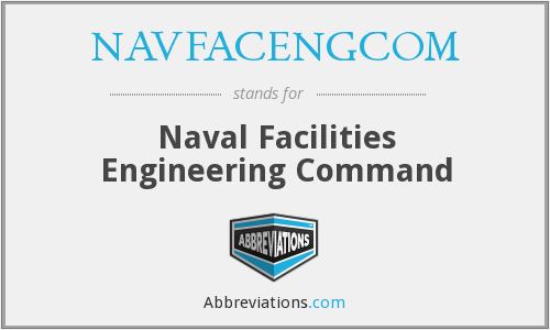 What does NAVFACENGCOM stand for?