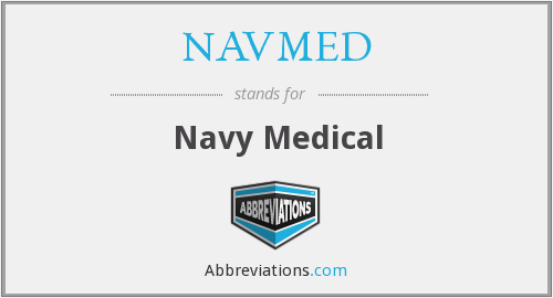 What does NAVMED stand for?