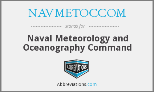 What does NAVMETOCCOM stand for?