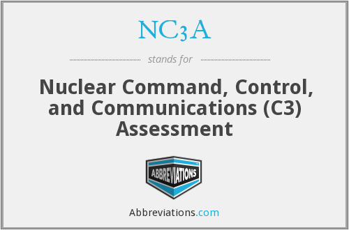 NC3A - Nuclear Command, Control, and Communications (C3) Assessment