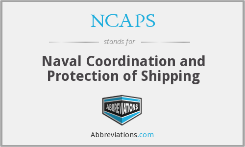 NCAPS - Naval Coordination and Protection of Shipping