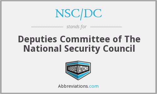 What does NSC/DC stand for?