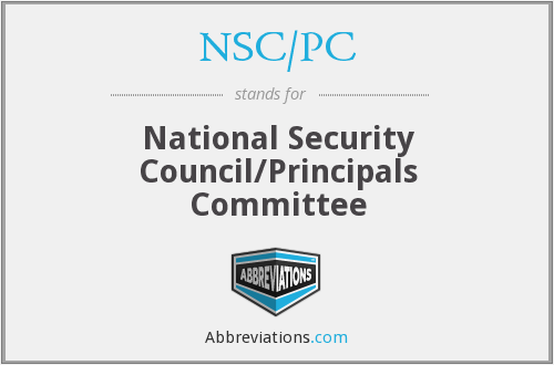 What does NSC/PC stand for?