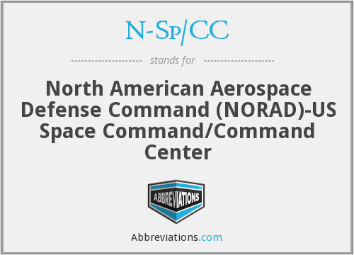 N-Sp/CC - North American Aerospace Defense Command (NORAD)-US Space Command/Command Center