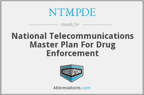 What does NTMPDE stand for?