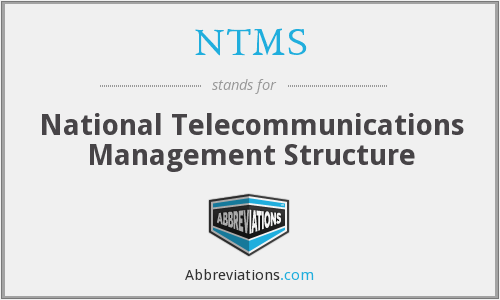 What does NTMS stand for?