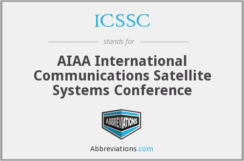 ICSSC - AIAA International Communications Satellite Systems Conference