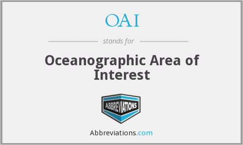 OAI - Oceanographic Area of Interest