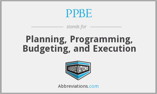 f103 planning programming budgeting and execution The planning, programing, budget and execution (ppbe) process (see ppbe  map) is one of three (3) processes (acquisition, requirements.
