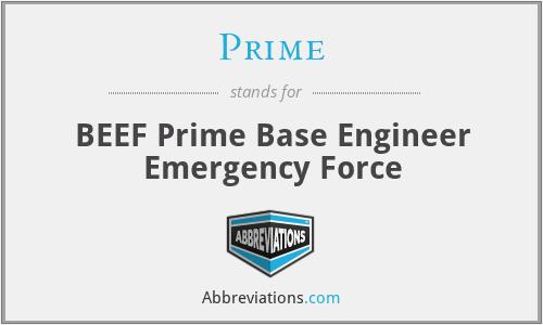 Prime - BEEF Prime Base Engineer Emergency Force