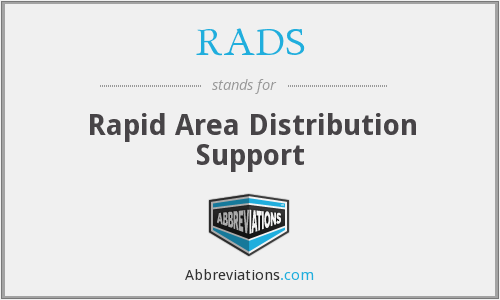 RADS - Rapid Area Distribution Support