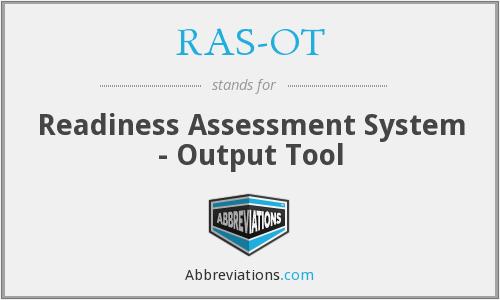 What does RAS-OT stand for?