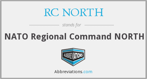 What does RC NORTH stand for?
