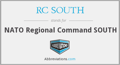 What does RC SOUTH stand for?
