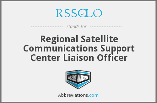 What does RSSC-LO stand for?
