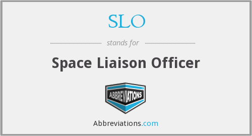 SLO - Space Liaison Officer