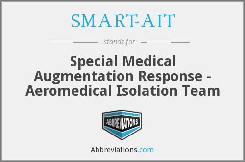SMART-AIT - Special Medical Augmentation Response - Aeromedical Isolation Team