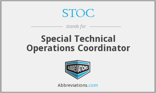 What does STOC stand for?