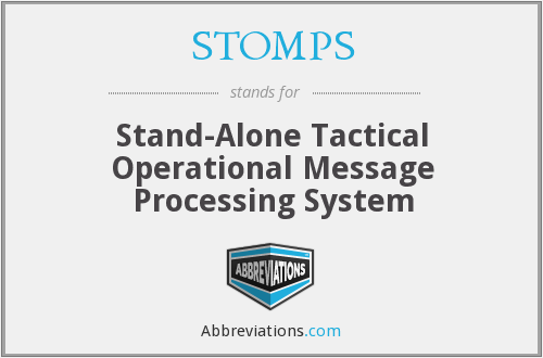 What does STOMPS stand for?