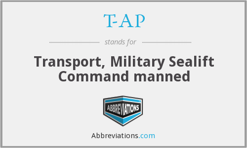 T-AP - Transport, Military Sealift Command manned