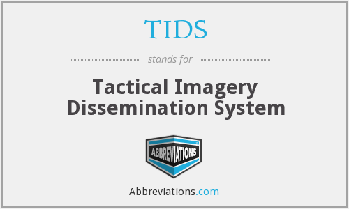 TIDS - Tactical Imagery Dissemination System