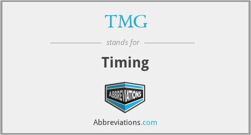 TMG - Timing