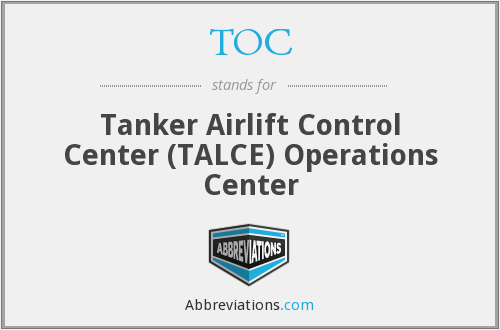 TOC - Tanker Airlift Control Center (TALCE) Operations Center