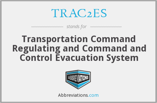 What does TRAC2ES stand for?